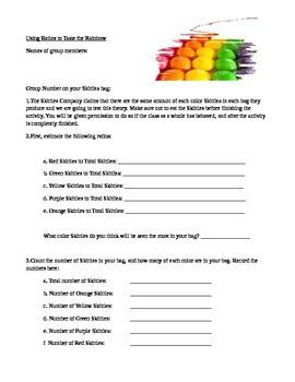 Using Ratios to Taste the Rainbow - 6th Grade Math