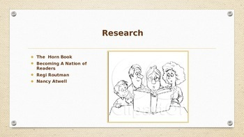 Using Read Aloud to Motivate Struggling Readers, A Power Point Presentation