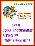 Using Rectangular Arrays To Understand Area