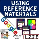 Reference Materials   Google Classroom Activities L.2.2.E