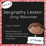 Using Resources (2nd Grade Geography Lesson, Standards Aligned)