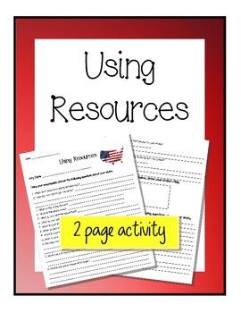 Using Resources - Encyclopedia & Atlas