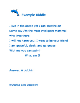 Riddles and Writing