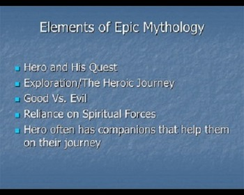 Using STAR WARS to teach Epic Mythology--Gilgamesh, The Iliad, and Oedipus Rex