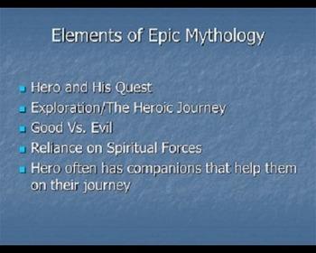 Using STAR WARS to teach Epic Mythology--Gilgamesh, The Il