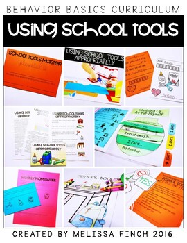 Using School Tools Appropriately- Behavior Basics Program