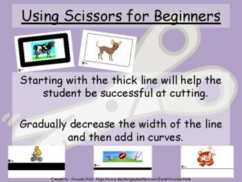 Using Scissors for Beginners
