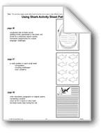 Using Shark Activity Sheet Patterns