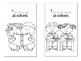 Guided Reading Book:  Using Sight Words - School Days (2 booklets included.)