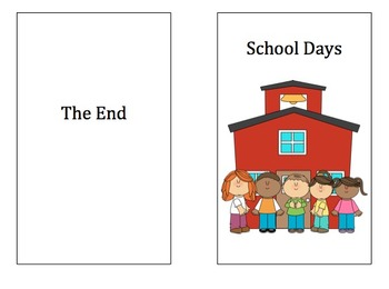 Guided Reading Book:  Using Sight Words - School Days (2 b