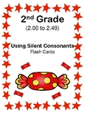 2nd Grade 2.00-2.49 Silent Consonants Cards Aligned to American Reading Co IRLA