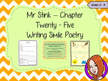 Using Similes in Poetry; Complete Lesson  – Mr Stink
