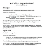 Using Skippyjon Jones to Teach Narrative Writing Strategies