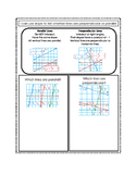 Using Slope to Identify Parallel & Perpendicular Lines Notes Page