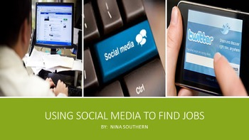 Using Social Media to Find Jobs
