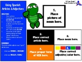 Using Spanish Articles & Adjectives (Interactive Learning Game or Activity)
