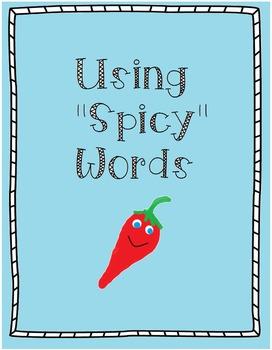 "Using ""Spicy Words"" Thesaurus Activity"