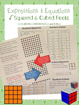 Using Squared & Cubed Roots to Approximate Irrational Numbers