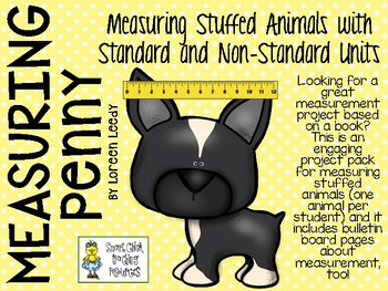 Using Standard and Non-Standard Units in Measurement - Math and Literature Pack