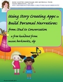 Free Using iPad Story Creating Apps   Build Personal Narra