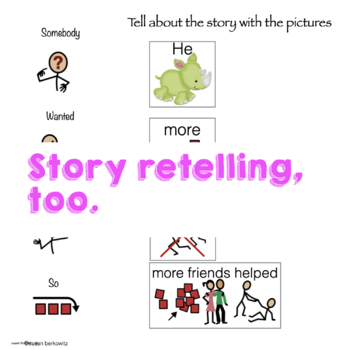 Using Storybooks to Teach AAC Core Vocabulary for Emerging Communicators (MORE)
