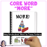 AAC Core Vocabulary Using Storybooks to Teach Emerging Communicators (MORE)