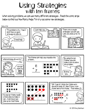 Using Strategies with Ten Frames: Numbers 11-19