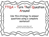"Using TTQA to answer ""WH"" questions"