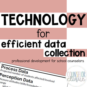 Technology for Efficient Data Collection