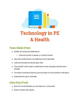 Using Technology in PE