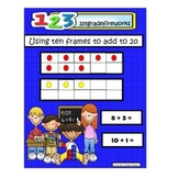Using Ten Frames to Add to 20