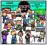 Using Technology Clip Art Bundle {Educlips Clipart}