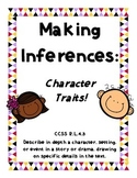 Using Text Evidence to Determine Character Traits