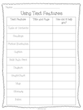 Using Text Features Chart