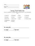 Using Text Features in an Informational Text