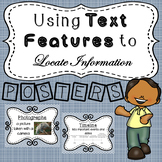 Using Text Features to Locate Information - POSTERS