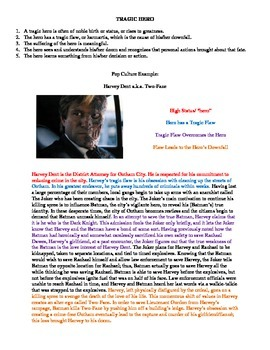 Using The Dark Knight Movie to Teach Tragic Hero