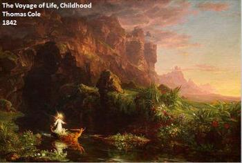 Using Thomas Cole's painting series The Voyage of Life to teach Allegory