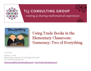 Using Trade Books in the Elementary Classroom: Numeracy: T