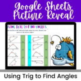Using Trig to Find Angles Google Sheets Activity--Digital