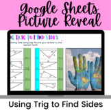 Using Trig to Find Sides Google Sheets Activity--Digital P
