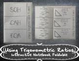 Using Trigonometric Ratios Foldable