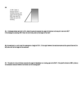 Using Trigonometric Ratios to Solve Right Triangles