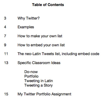 Using Twitter in the Latin Classroom