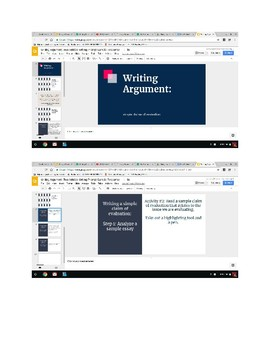 Using Two Informational Articles to Brainstorm and a Writing Prompt