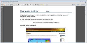 Using Vectors in a Boat Activity