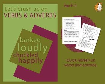 Using Verbs And Adverbs (Improve Your English Work Packs) 9-14 years