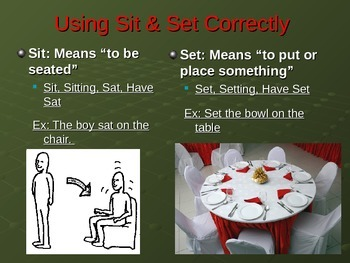 Using Verbs Correctly PowerPoint