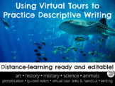 Using Virtual Tours for Descriptive and Creative Writing - Distance Learning