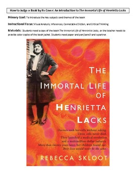 Visual Analysis to Introduce The Immortal Life of Henrietta Lacks